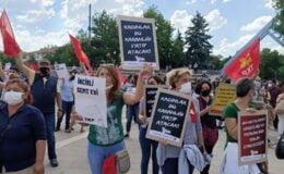 Ankara'da halk kürsüsünü kurdu: Karanlığı Yırtıp Atacağız!