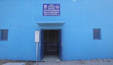 Bala'nın 40 yıllık su sorunu çözüme kavuştu