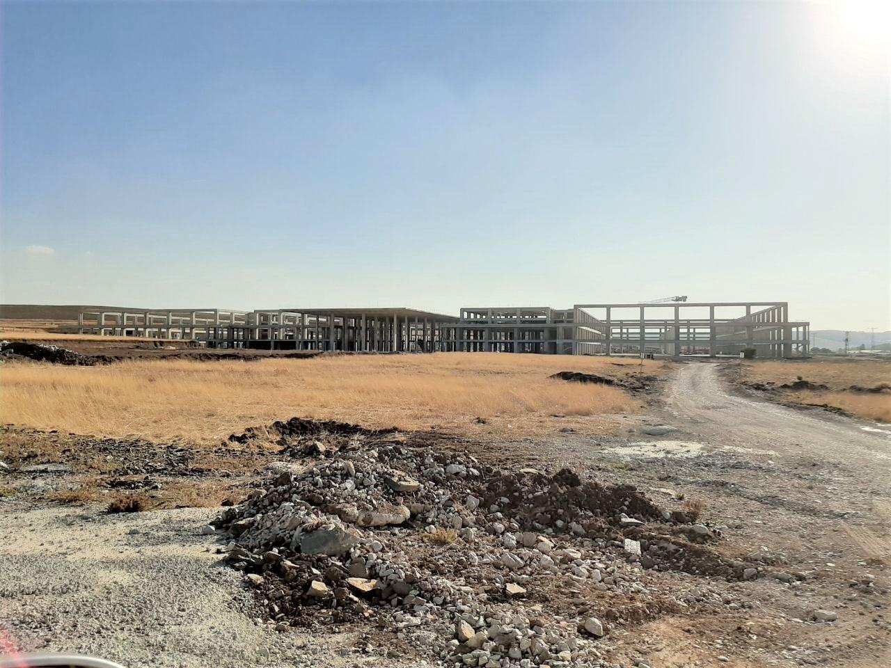 Akyurt Fuar Alanı inşaatı neden devam etmiyor?