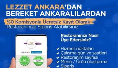 Başkan Yavaş'tan esnafa yeni destek: Sıfır komisyonla 'Lezzet Ankara' uygulaması