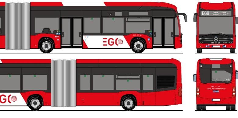 Ankaralı kararını verdi: Yeni otobüsler kırmızı-beyaz