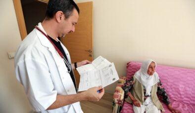 Yenimahalle'de evde sağlık hizmeti yeniden başladı