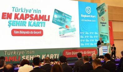 Mansur Yavaş'tan en kapsamlı şehir kartını tanıttı: 'Başkent Kart' dünya kartı olacak