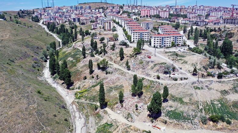 Büyükşehir'in Şirindere'de atıkla mücadelesi tamamlandı