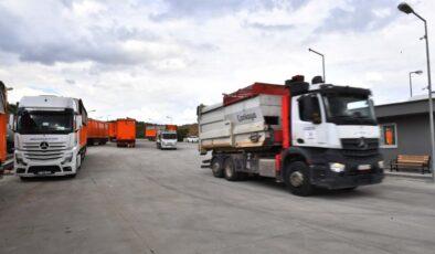 Başkent'te iki yeni katı atık transfer istasyonu devrede