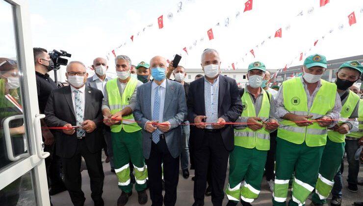 Temizlik İşleri'nin yeni hizmet binası hizmete açıldı
