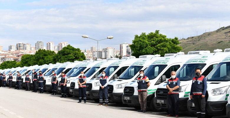 Büyükşehir'in cenaze araç filosu genişliyor