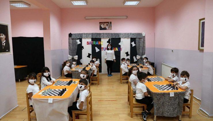 """Yenimahalle kreşlerinde """"Geleneksel Satranç Turnuvası"""""""
