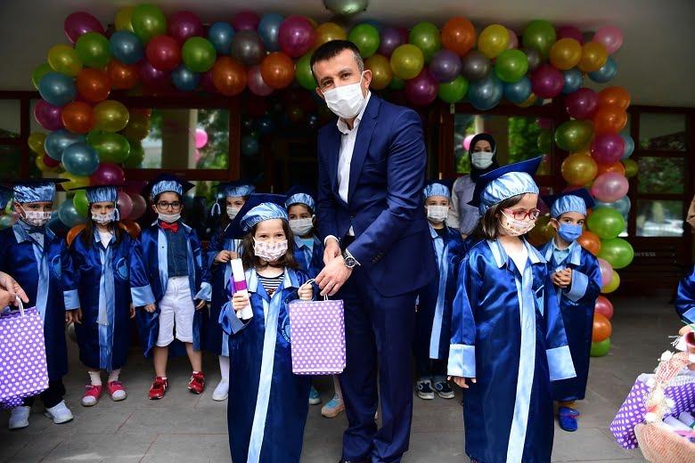 Altındağ'ın minikleri mezun oldu