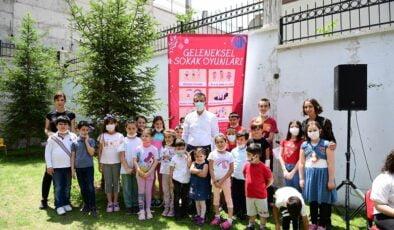 Altındağ' da geleneksel oyunlar canlandı
