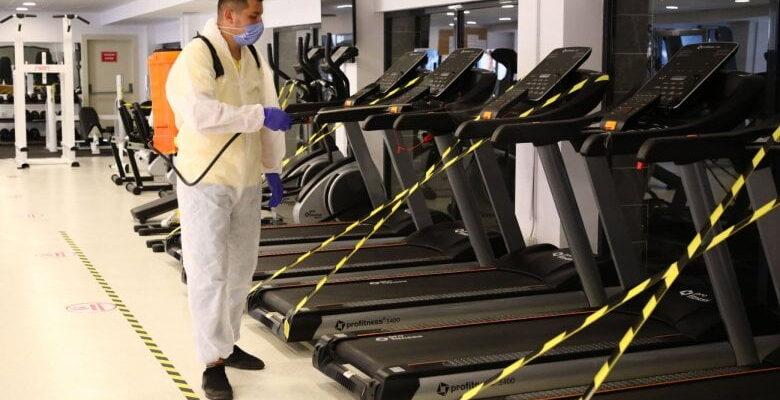 Keçiören'de sağlık için hijyenik spor salonları