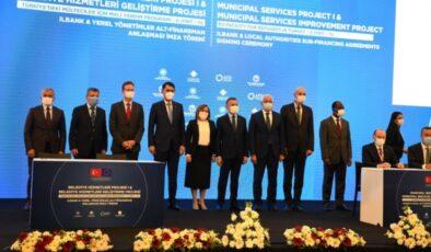 İlbank ve yerel yönetimler alt finansman anlaşması imzalandı