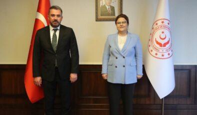 Başkan Çetin, Aile ve Sosyal Hizmetler Bakanı Derya Yanık ile Pursaklar'ı Değerlendirdi