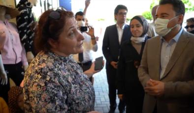 Babacan Antalya'da esnafla buluştu: 'Kendimizi asalım' dedik