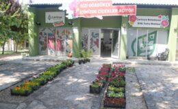 Çiçek satışına büyük ilgi