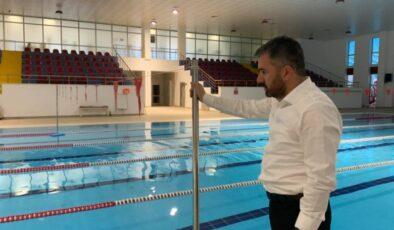 Pursaklar Belediyesi Yüzme Havuzu Yeniden Hizmette