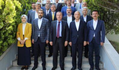 AK Parti'den Ankaragücü'ne ziyaret