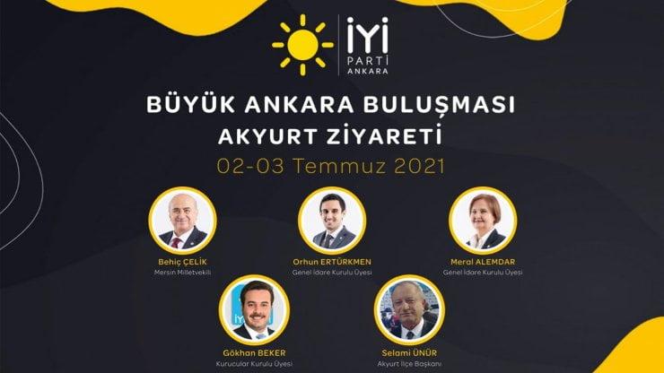 İyi Parti'den 'Büyük Ankara Buluşması'