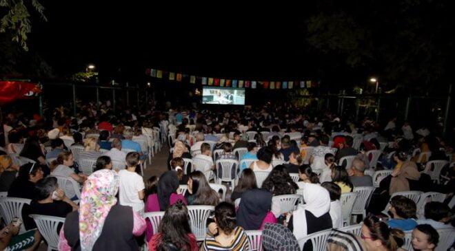 Çankaya'da açık havada sinema keyfi başlıyor