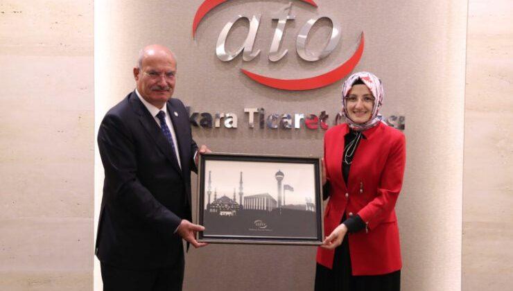 Başkent'in Coğrafi İşaretli Ürünleri ATO'da Konuşuldu