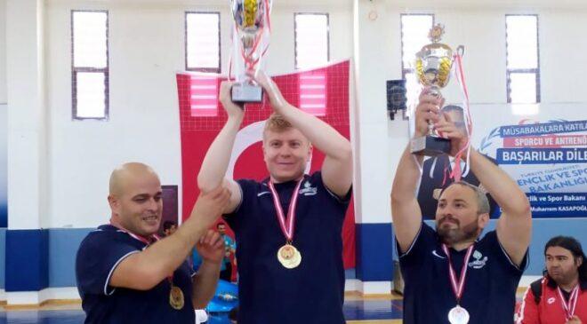 Türkiye Halter Şampiyonu Çankaya Belediyesi