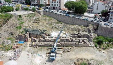 Ankara Roma Tiyatrosu gün yüzüne çıkıyor