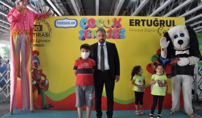 Pursaklar çocuk şenliği final yaptı