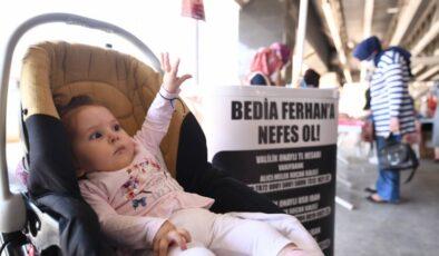 SMA Hastası Bedia Ferhan'a Umut Kermesi