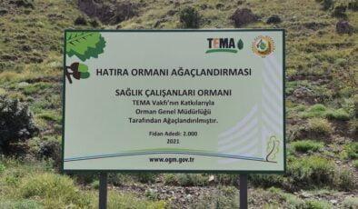 TEMA'dan Akyurt'a hatıra ormanı