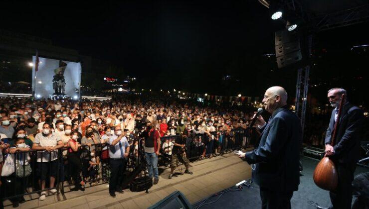 """Yenimahalle Türkü Festivali'nde """"Vefalı"""" son"""