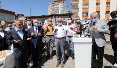 Başkan Yaşar, Yıldırım Beyazıt Cami'nin temelini attı