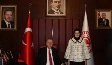 Cumhurbaşkanı Erdoğan'dan fuar alanına destek