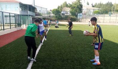 Akyurt'un gençleri yeniden yeşil sahalarda