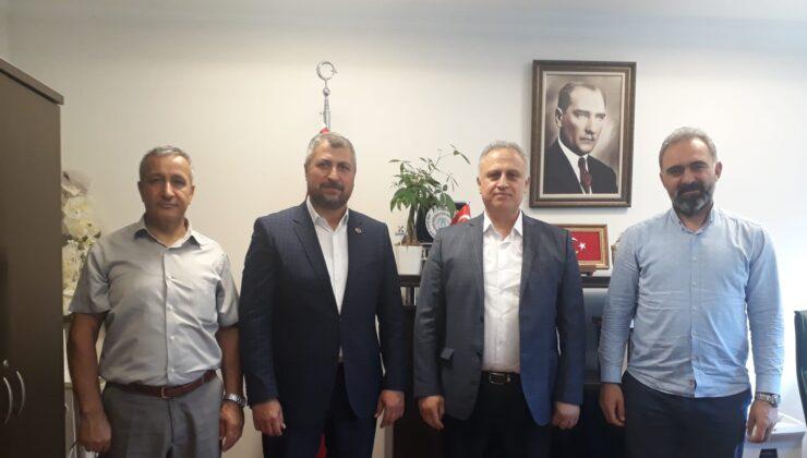 Akyurt Spor'dan Sivil Toplumla İlişkiler Müdürlüğü'ne ziyaret