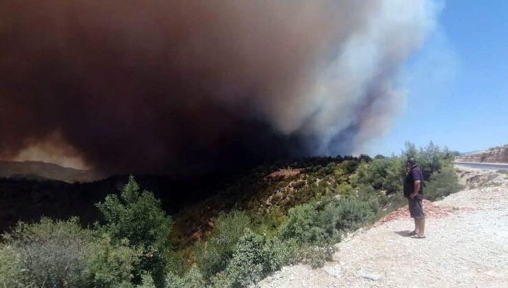 Antalya Manavgat'ta orman yangını yerleşim yerlerine sıçradı