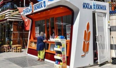 Ankara'ya 14 yeni halk ekmek büfesi