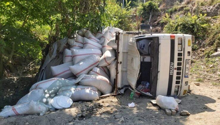 Aydın'da kamyonun altında kalan çocuk ağır yaralı