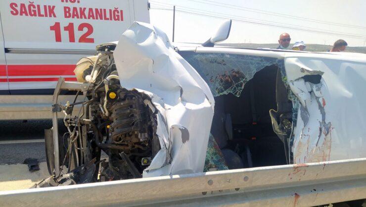 Aydın'da kaza: 1'i çocuk 4 yaralı!