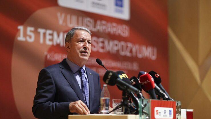 Bakan Akar, ihraç edilen FETÖ'cü sayısını açıkladı