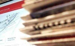 Bakan yardımcılıklarına atama kararları Resmi Gazete'de