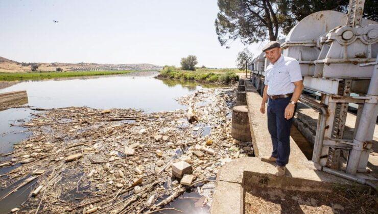"""Başkan Soyer: """"Suyu kirletenlere dava açacağız"""""""