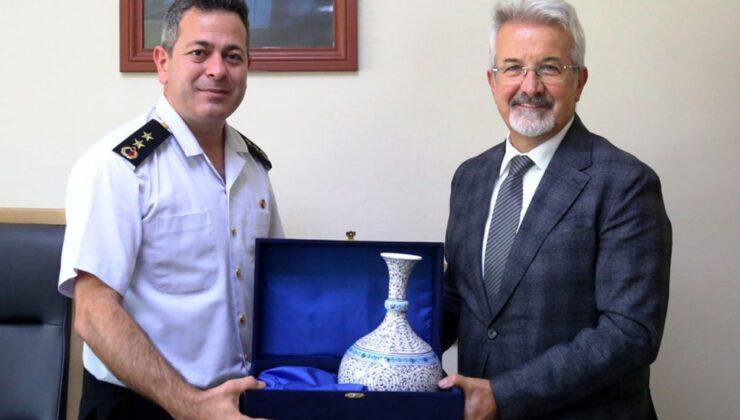 Bursa Nilüfer'da Jandarma Komutanı'na başarı ziyareti