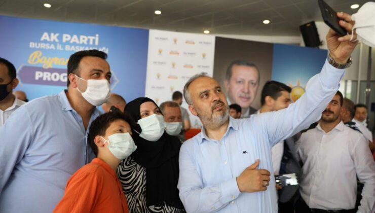 Bursa'da AK Parti bayramlaşmasında birlik beraberlik vurgusu