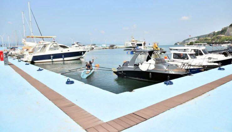 Bursa'dan Güzelyalı Yat Limanı'na 3 milyon liralık yatırım