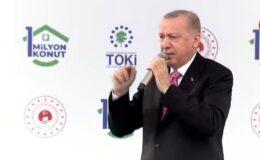 Cumhurbaşkanı Erdoğan, 1 milyonuncu anahtar teslim töreninde konuşuyor (CANLI)
