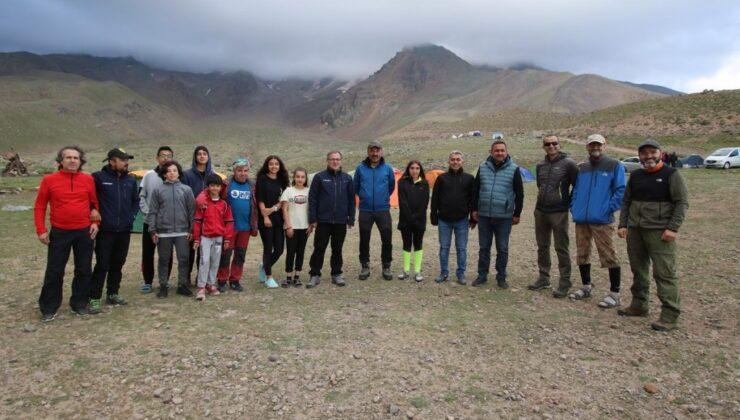 Erciyes Zirve Tırmanışı'na başarılı final