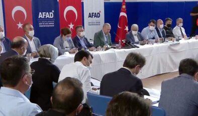 """Erdoğan: """"Her türlü zararı karşılayacağız"""""""