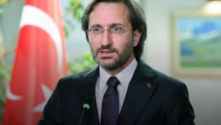 """Fahrettin Altun: """"İki devletli çözümü aramalıyız"""""""