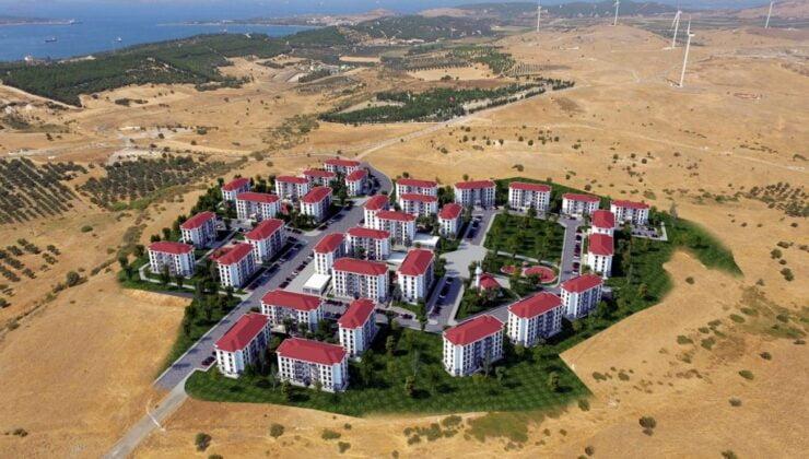 İzmir Aliağa'da TOKİ konutları yükseliyor