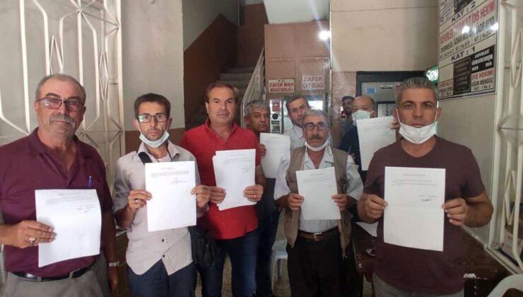 İzmir Bergama'da 25 muhtar istifa etti